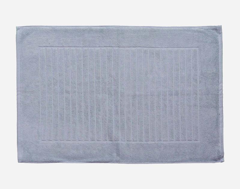 Modal Bath Mat in French Blue.