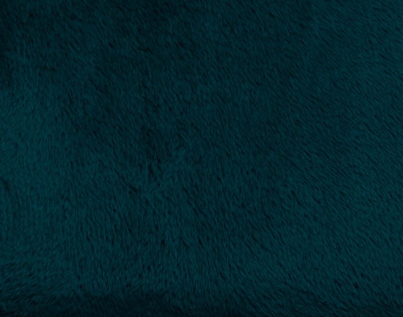 Velveteen Fleece Throw - Atlantic
