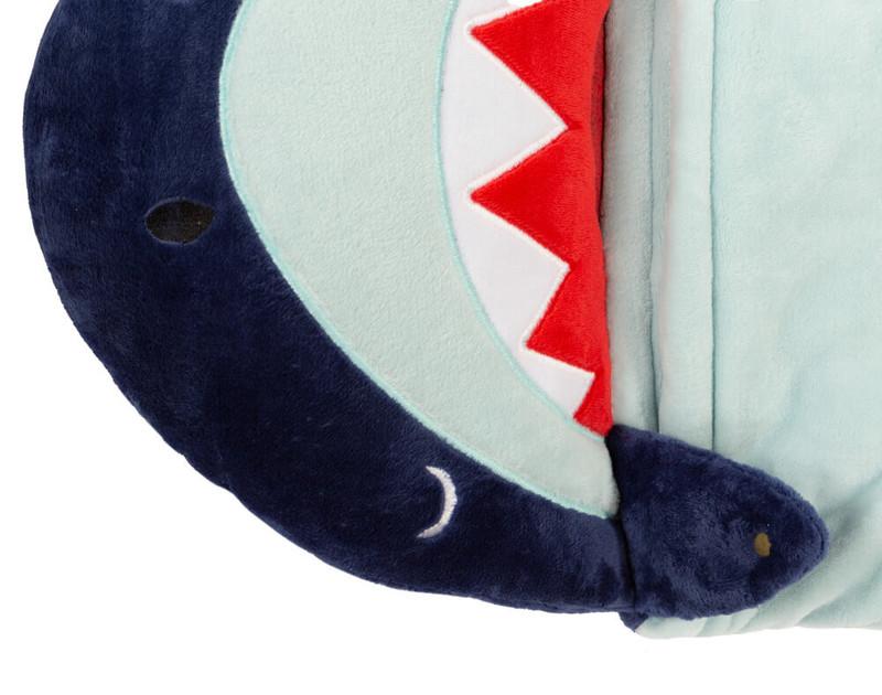 Close up of shark face
