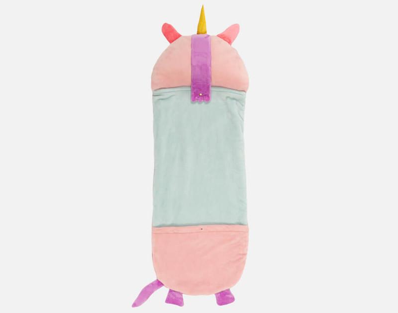 Reverse of Unicorn sleeping bag