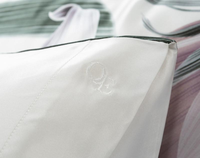 100% Silk Pillowcase - Jungle Floral (Sold Individually)