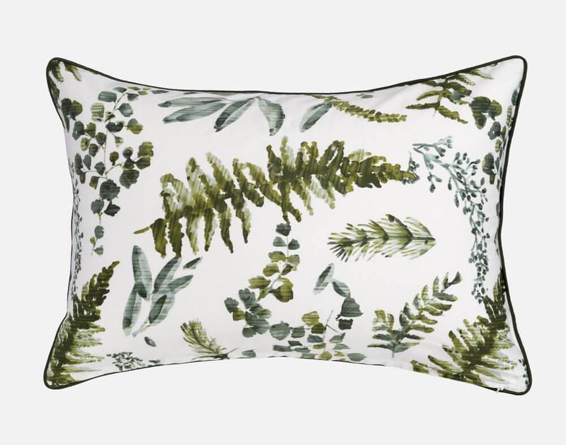 Kuranda Pillow Sham, reverse with white backgroun.