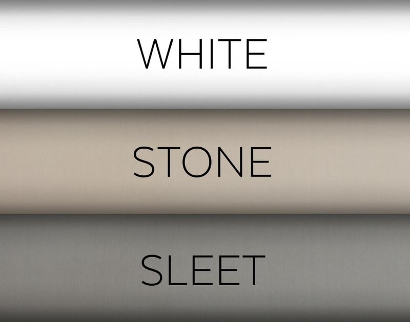 Colour options for 300TC Organic Cotton Duvet Cover .