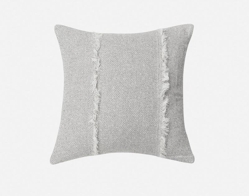 Close-up of Thoren Square Cushion Cover.
