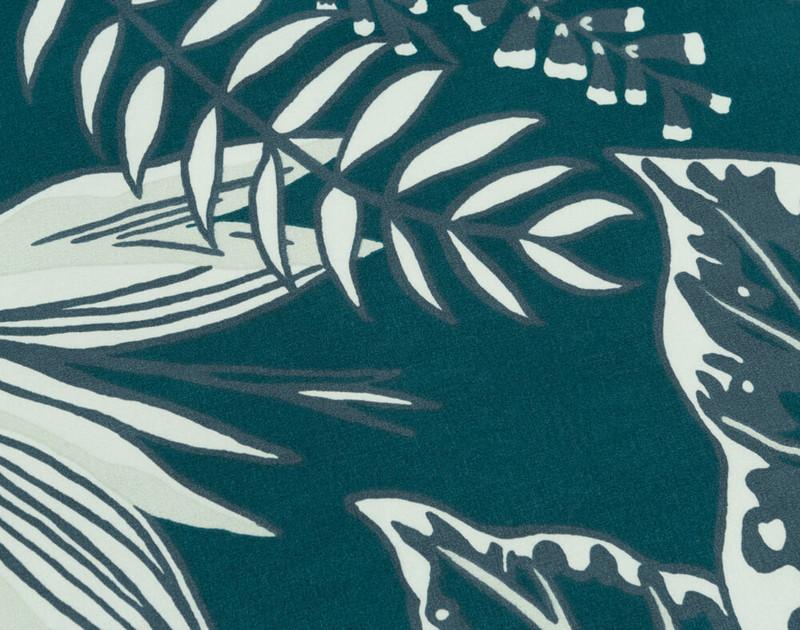 Close up of botanical print