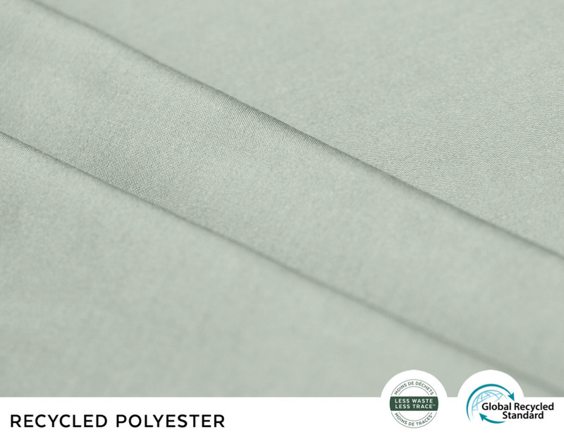 Recycled Polyester Sheet Set  - Agate Green