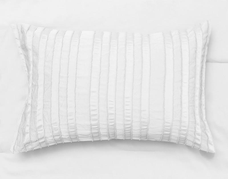 Maran White pillow sham