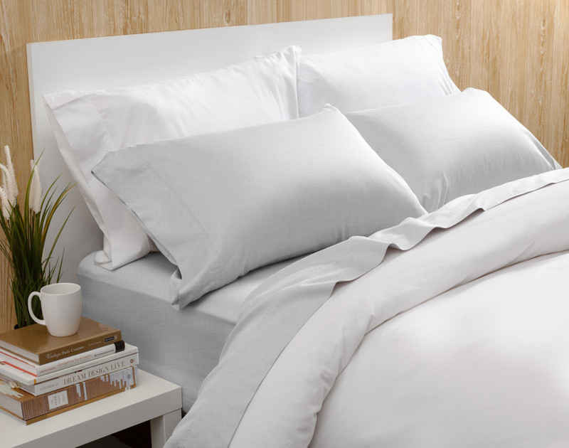 Bamboo Cotton Sheet Set with Activated Charcoal