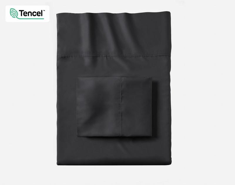 Shale BeechBliss TENCEL™ Modal Pillowcases folded flat