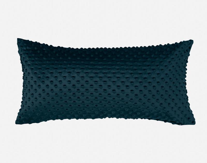 Our Nubby Velvet Boudoir Pillow Cover in Teal.