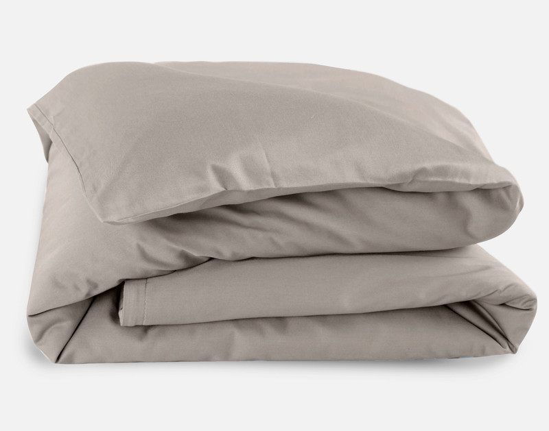 Bamboo Cotton Crib-Sized Duvet Cover - Slate Discontinued