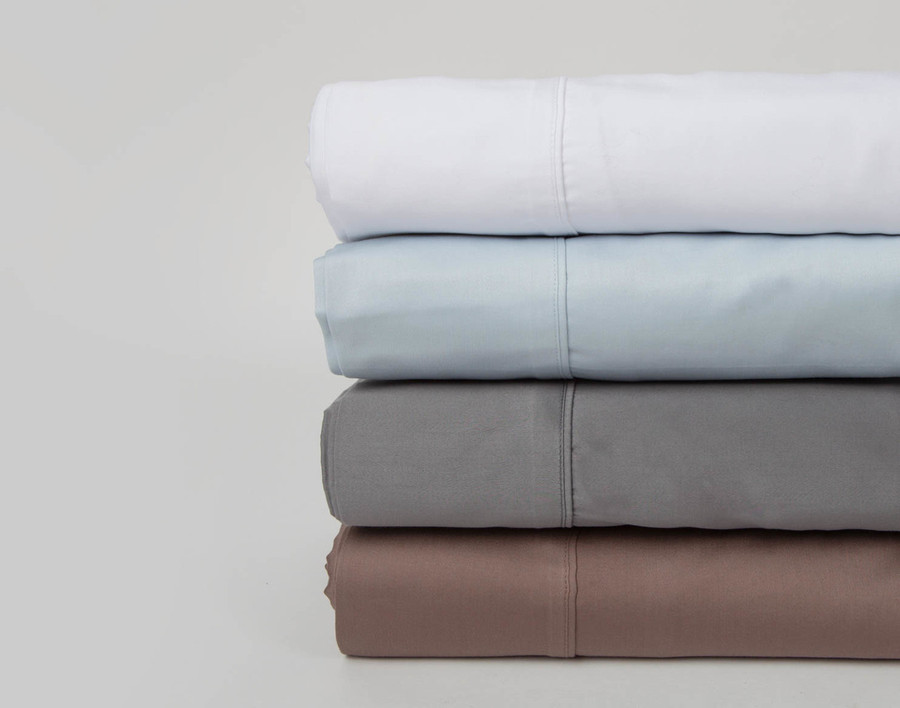 500TC Cotton Sateen Sheet Set (Extended Sizes Available)