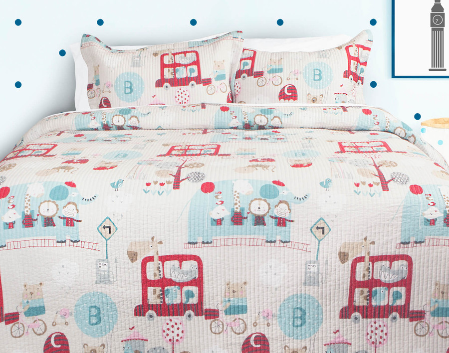 Playtime Cotton Quilt Set