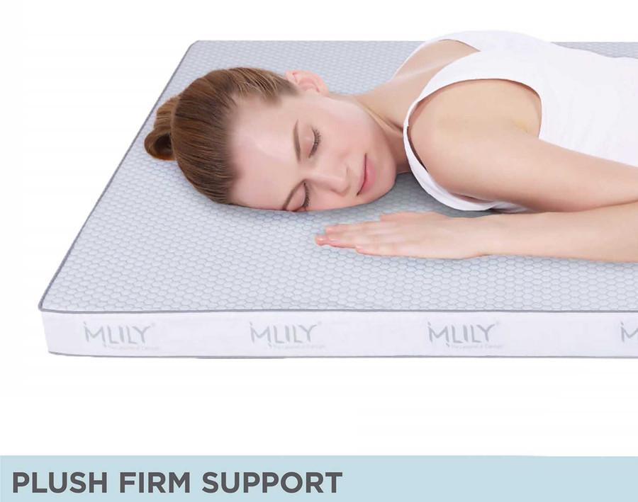 """MLILY® 2"""" Gel Memory Foam Topper"""