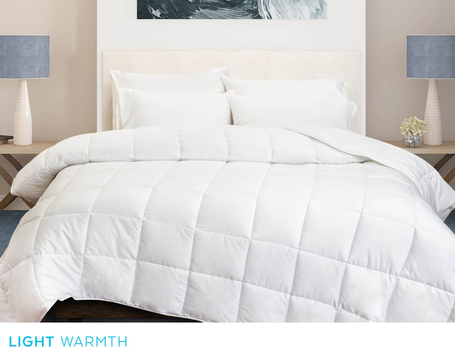 Carmanah Microgel Duvet, front view
