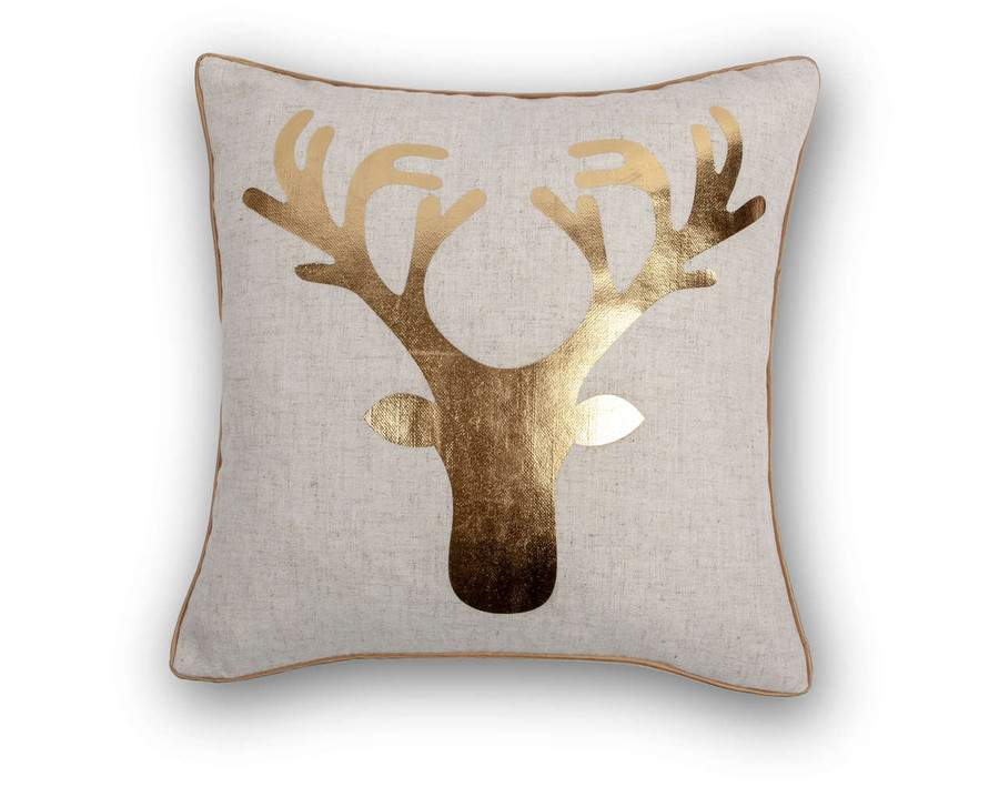 Holiday Cushion Cover - Oh, Deer!