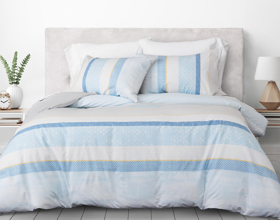 Faroe Cotton Duvet Cover Set