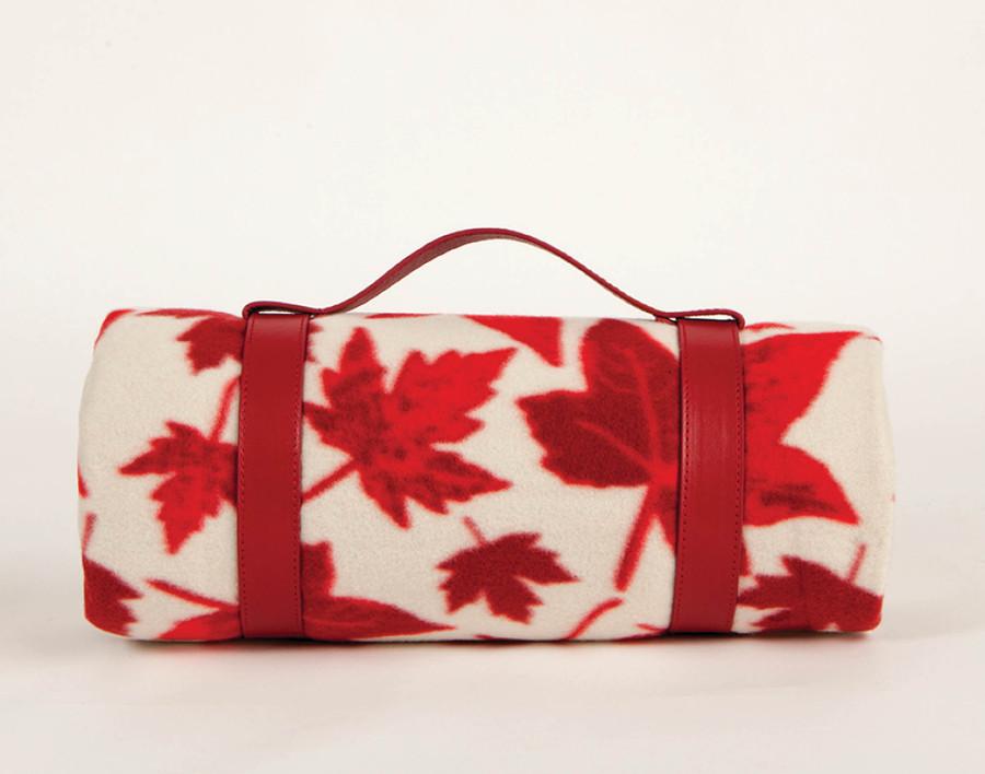 Outdoor Blanket - Leaves