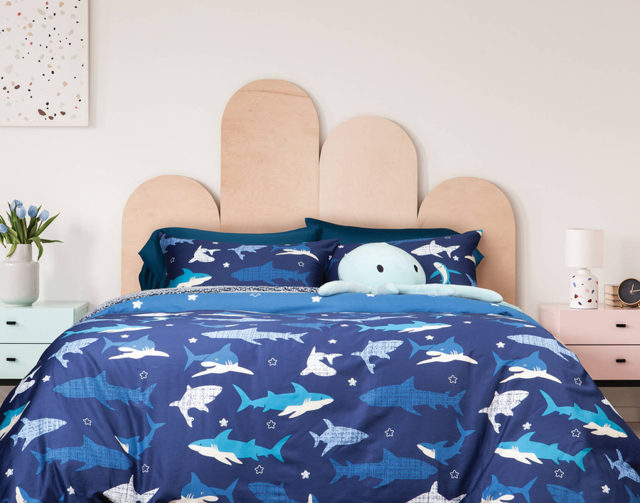 Shark Point Duvet Cover Set