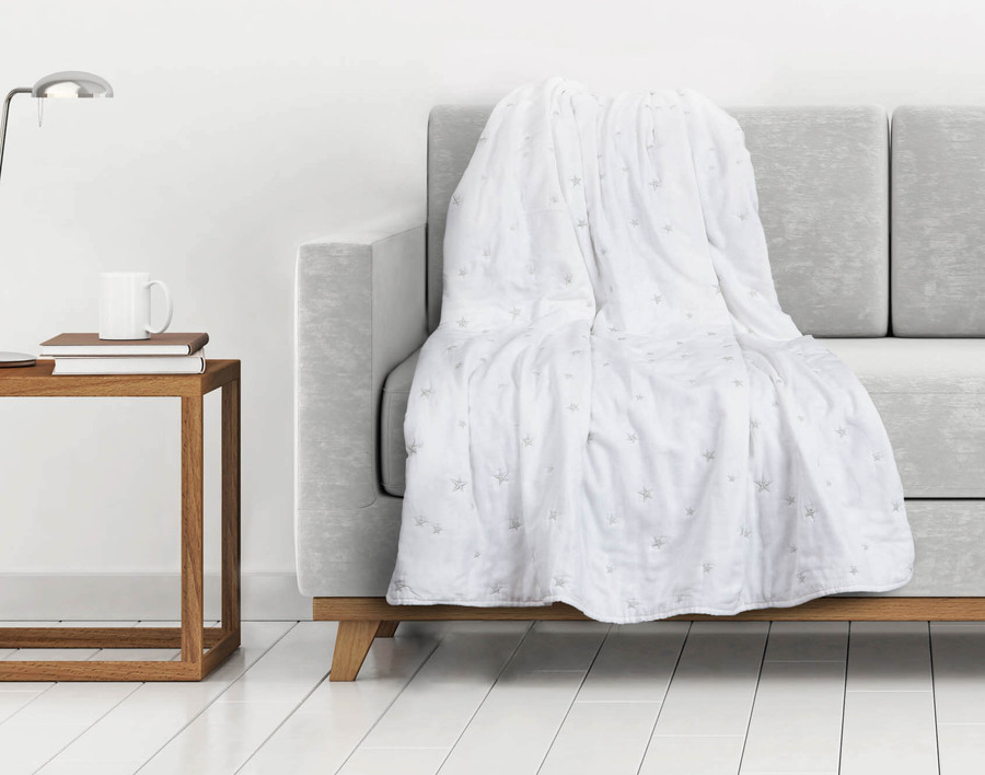 The Shining Star Throw is perfect for a night in!