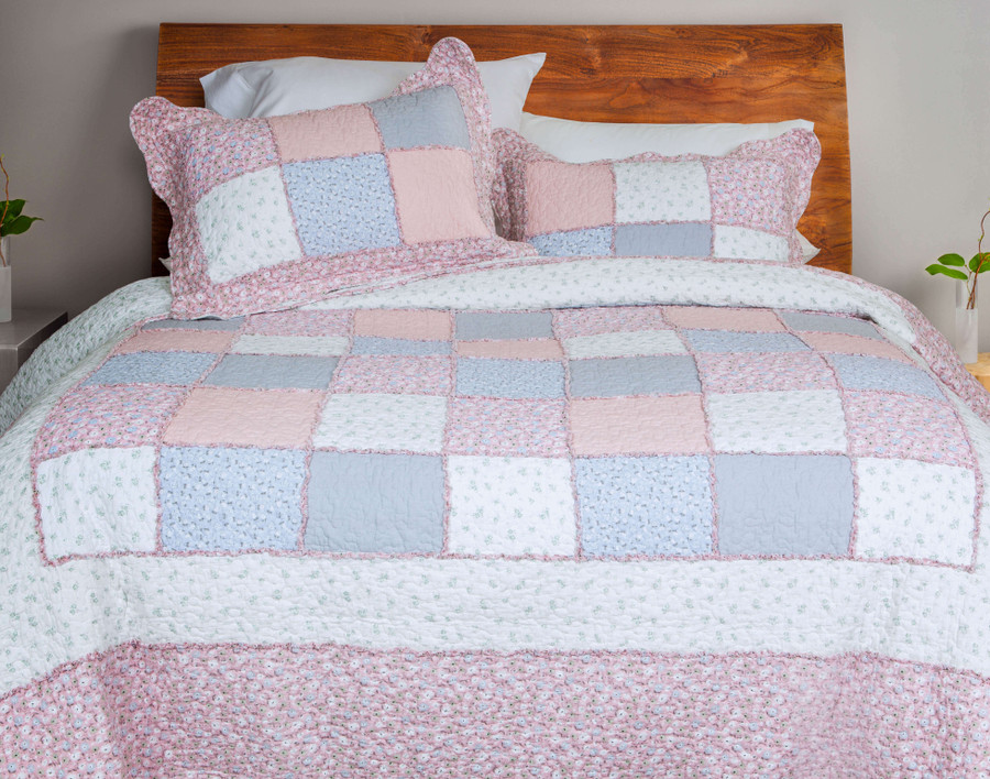 Marjorie Cotton Quilt Set