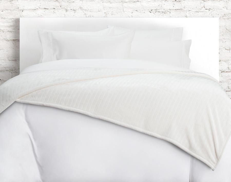 Striped Fleece Blanket