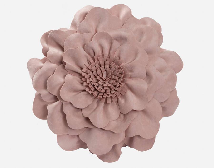 Daisy Cushion - Rose Smoke