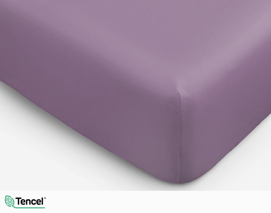 Eucalyptus Luxe Fitted Sheet - Wisteria