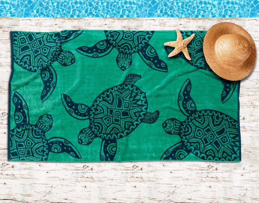 Tropic Turtle - Beach Towel