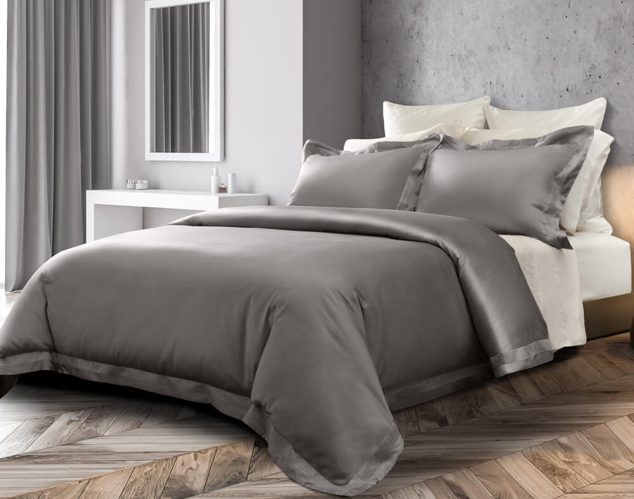 Sovereign Collection 800TC SUPIMA® Cotton Duvet Cover Set - Platinum