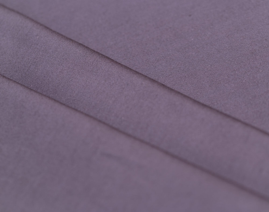 300TC Cotton Sateen Sheet Set - Purple