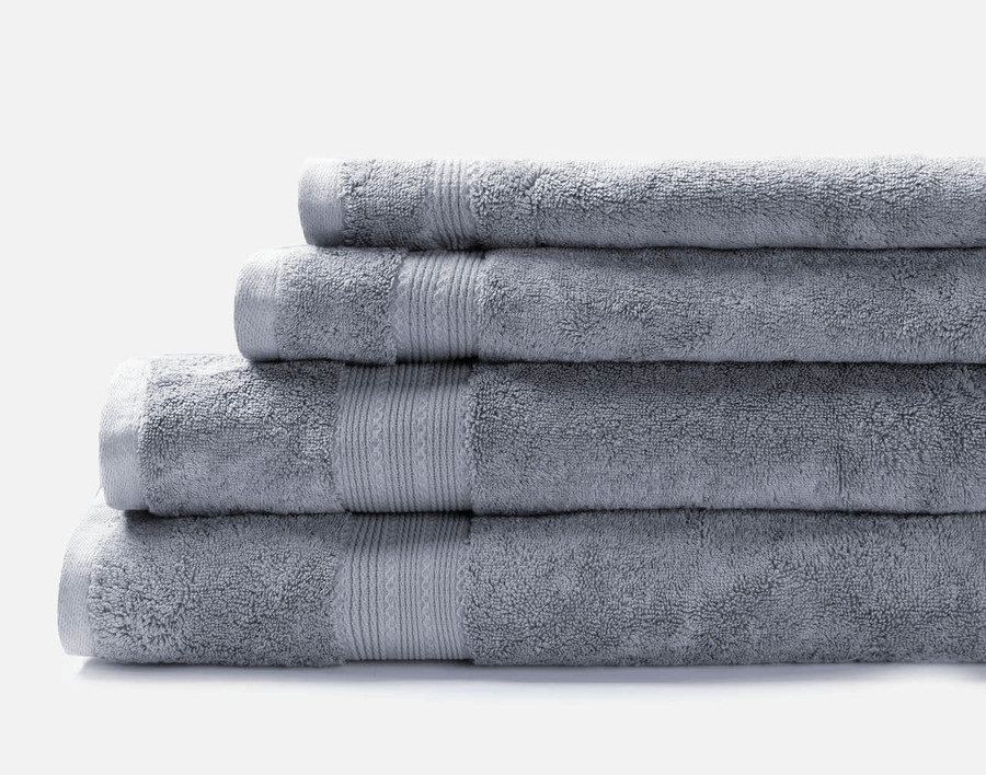 TENCEL™ Modal Cotton Towels in French Blue.