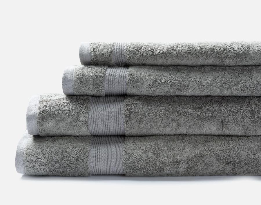 TENCEL™ Modal Cotton Towels in Grey.