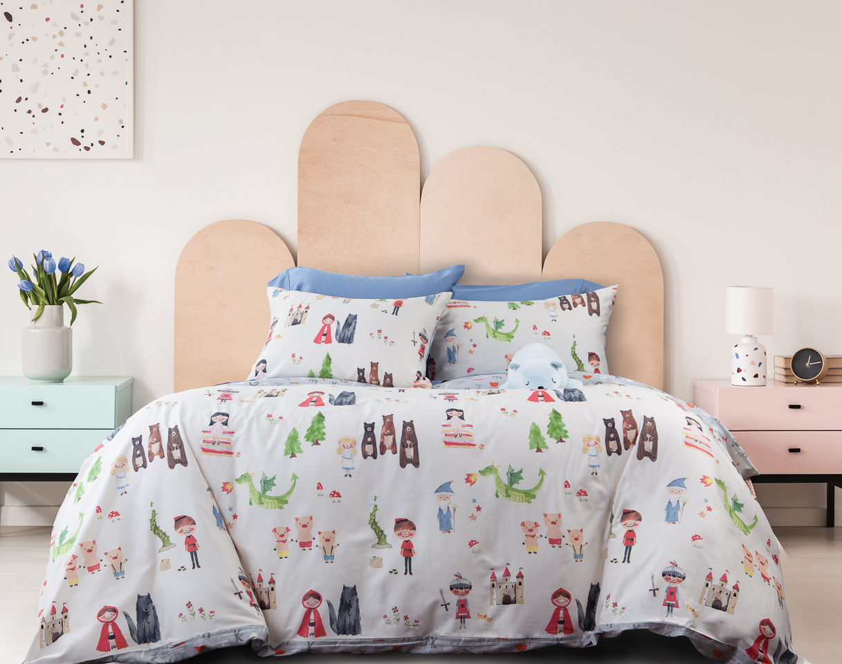 New! Cozy Cuddly Kids' Bedding