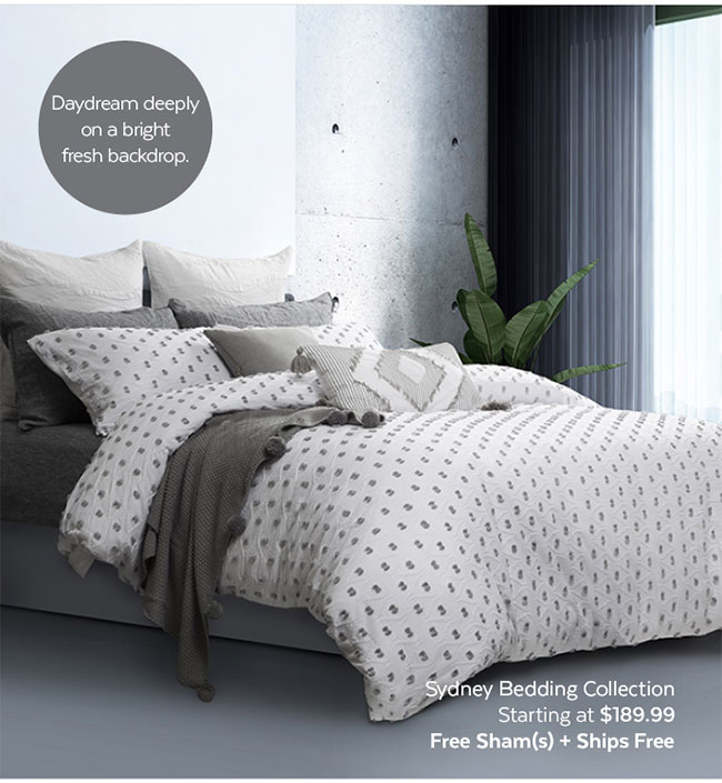 Sydney Bedding Collection