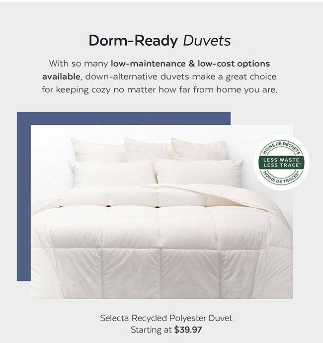 Dorm-Ready Duvets