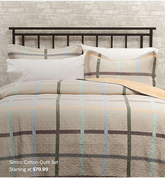 Simco Cotton Quilt Set