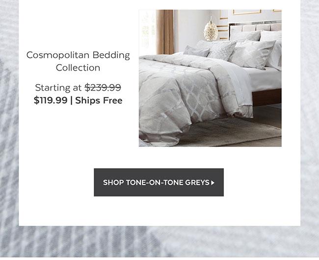 Cosmopolitan Bedding Collection