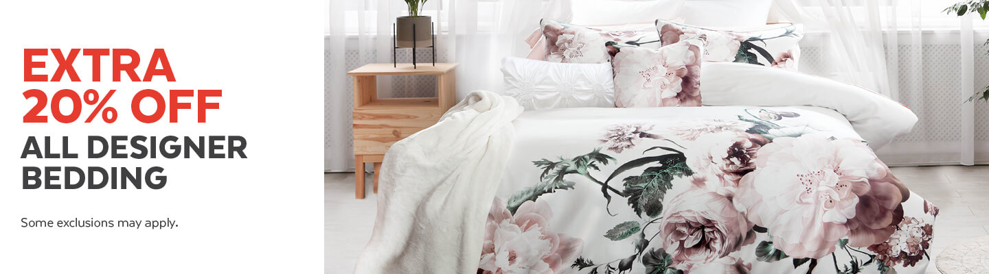Extra 20% Off All Designer Bedding Collections