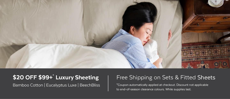 Luxury Sheet Sale