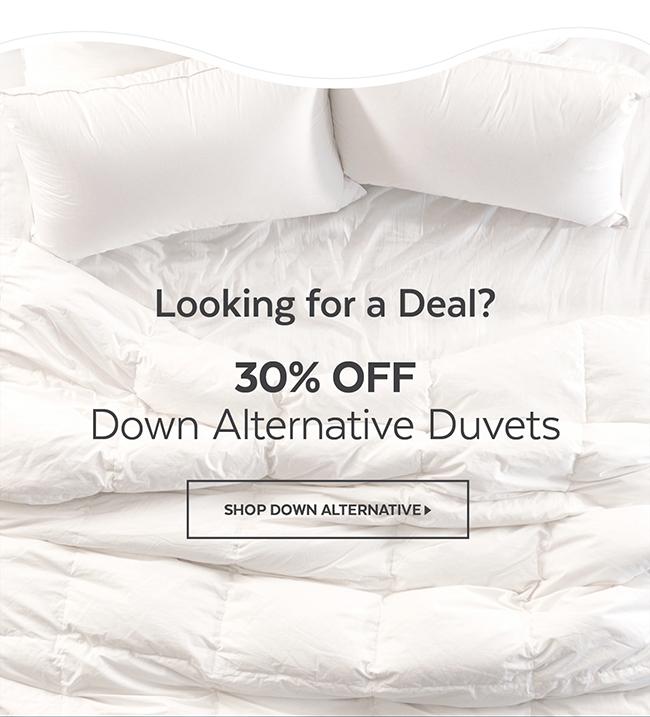 Down Alternative Duvets