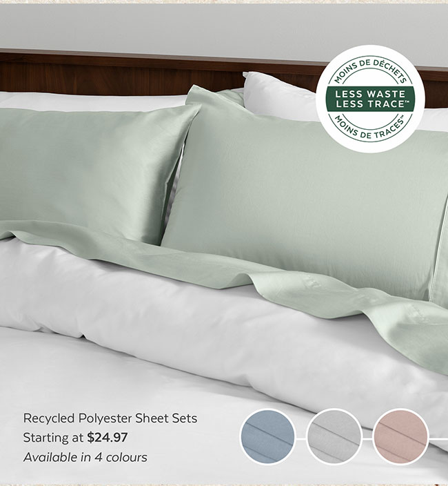 Recycled Polyster Duvet Cover Sets