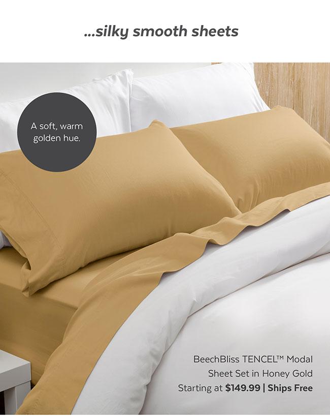 BeechBlich Tencel Modal Sheet Set in Shale
