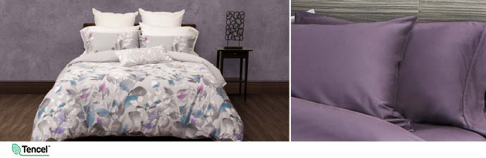 Sycamore Bedding Collection With Wisteria Sheets