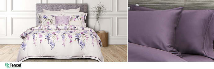 Eventide Bedding Collection With Wisteria Sheets
