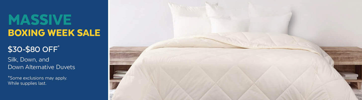 $30 to $80 Off Duvets