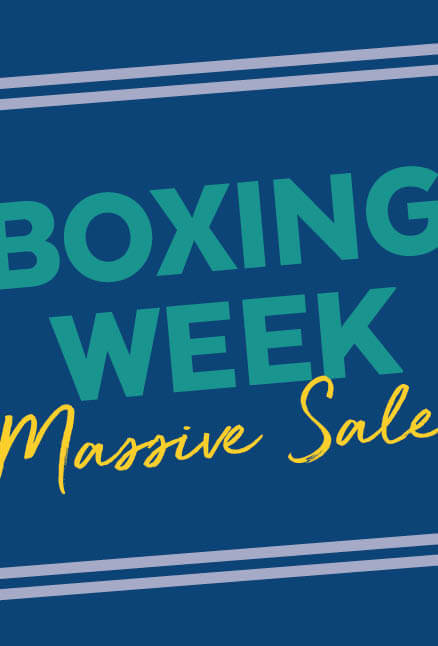 Boxing Week Massive Sale