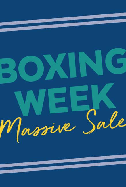 Boxing Week Massive Sale