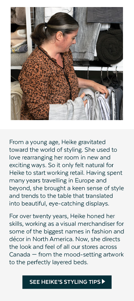 Heike's Styling Tips