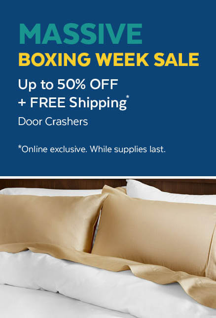 Up to 50% Off and Free Shipping on Door Crashers